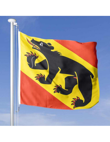 Achat de drapeau bernois soufflant dans le vent