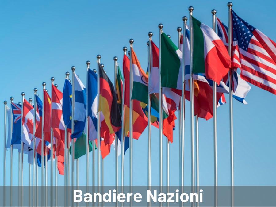 Bandiere Nazioni